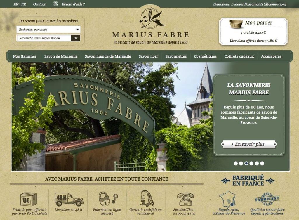 site-ecommerce-marius-fabre