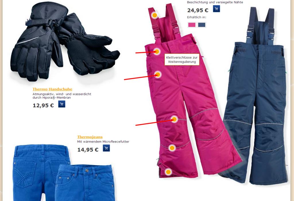 Focus Détails Tchibo - Ergonomie E-commerce