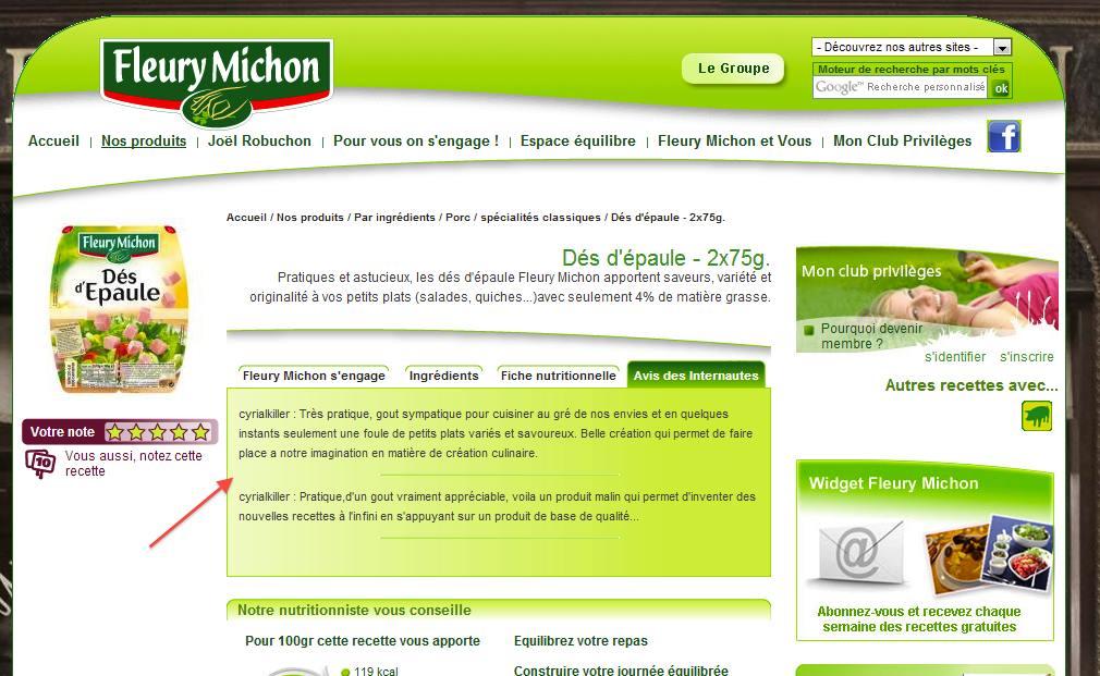 Fleury-Michon-faux-avis-client