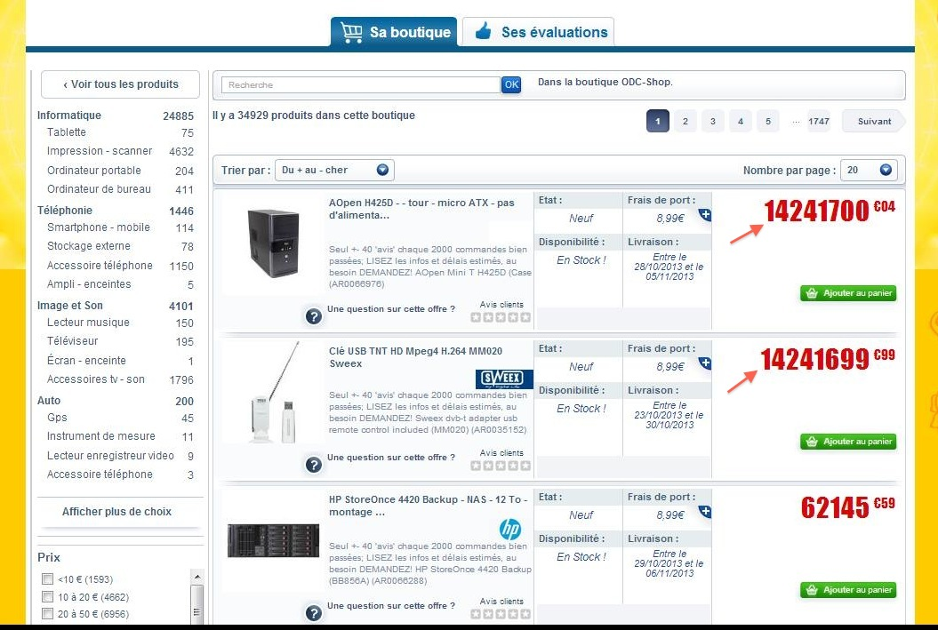 Le b tisier e commerce n 4 blog skeelbox - Comparateur de prix demenageur ...
