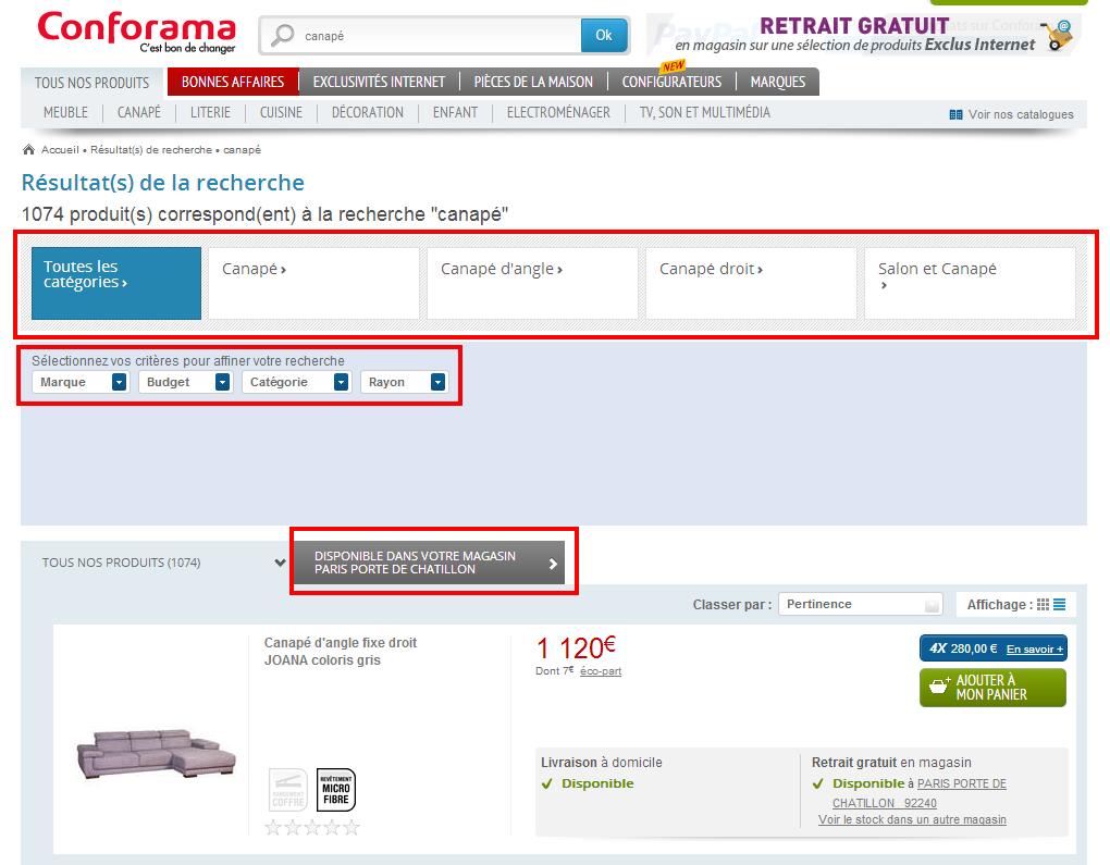 b5b28592c9e0 Moteur de recherche interne, comment améliorer la page de résultats ...