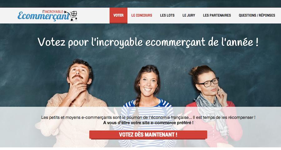 Concours L'incroyable e-commerçant ! 1