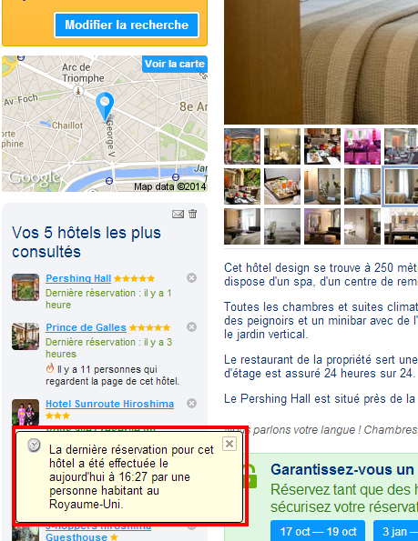 Booking.com Hôtel Pershing Hall Paris France