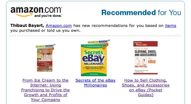 amazon-recommandation