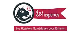 Site Whisperies - des histoires numériques pour les enfants - Audit et conception d'interface