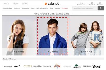 Zalando : 6 bonnes idées à reprendre pour votre site 3