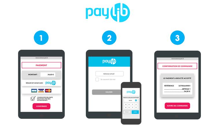 Paylib, moyen de paiement via son smartphone sur les site e-commerce pour améliorer la conversion sur son site Mobile