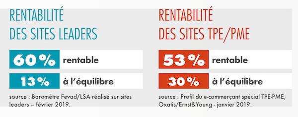 Rentabilité des sites e-commerce TPE etPME